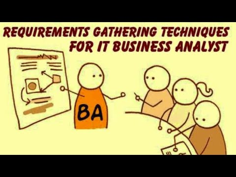 Business Analyst Training: How To Do Requirements Gathering ...