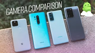 Best Camera Comparison: Pixel 5 vs OnePlus 8T vs S20