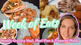 What's for Dinner? 2020  & Grocery Haul (Walmart & ALDI)   Family Meal Plan