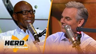 Eric Dickerson talks AB-Raiders drama, says Cowboys are a 6-10 team without Zeke | NFL | THE HERD