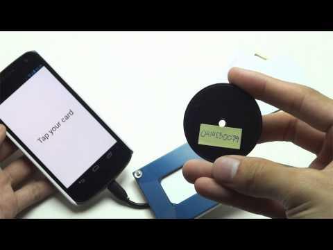 Video of UART RFID Reader
