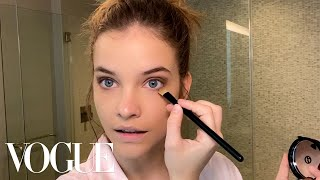 Barbara Palvins Everyday Beauty Routine | Beauty Secrets | Vogue