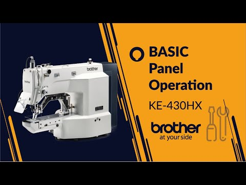 KE-430H & BE-438H Panel operation
