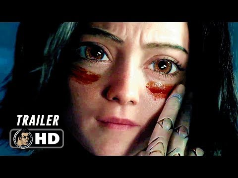 ALITA BATTLE ANGEL International Trailer (2018)