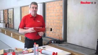 Produktvorstellung und Anwendung – fischer Hochleistungsmörtel FIS V