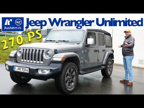 2020 Jeep Wrangler Unlimited JL Sahara 2.0 T-GDI - Kaufberatung, Test deutsch, Review, Fahrbericht