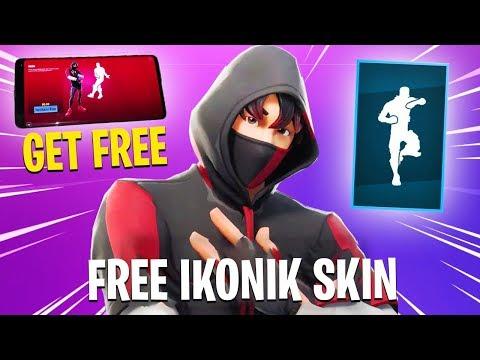 new how to get ikonik skin free in fortnite working method - how to get fortnite ikonik skin without s10