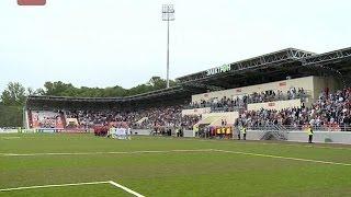 На поле стадиона «Электрон» встретились команды «Тосно» и «Химки»