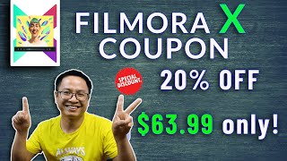 20% Off Filmora Video Editor Coupon Code 2019 Verified