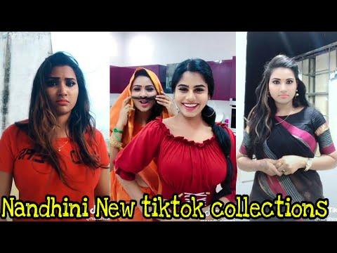 Nandhini Myna Serial Actress Dubsmash Collections - смотреть