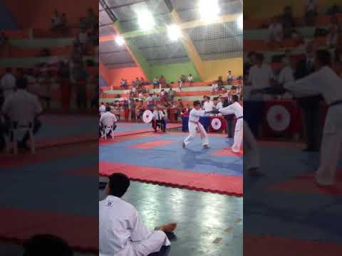 Minha 2 luta no campeonato em Andradina-SP no dia 29/11/2017