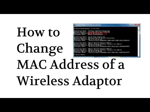 How To Spoof / Change MAC Address Of Wireless Adapter By @Tech_Compass Mp3