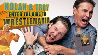 RETRO REPLAY - Nolan North & Troy Baker Enter the Ring to WrestleMania
