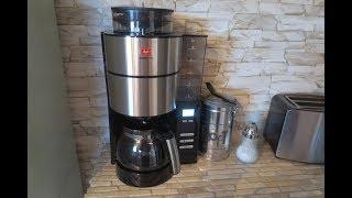 Melitta Kaffeemaschine mit Mahlwerk