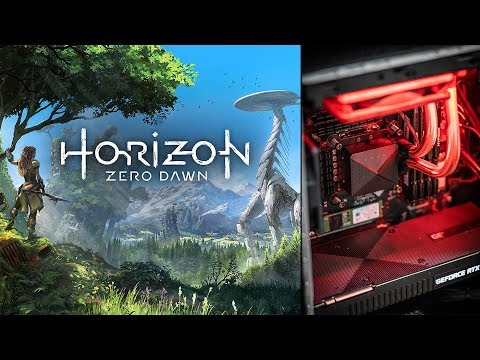 Horizon Zero Dawn PC live gameplay at 4k