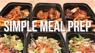 Simple 3 Day Meal Prep