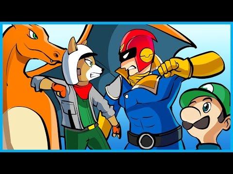Super Smash Bros Wii U - I RAGE A LOT BECAUSE I'M TERRIBLE!! (Super Smash Bros Funny Moments)