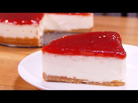 la tarta de queso sin horno más fácil y rica de hacer del mundo