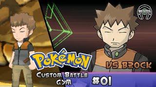Pokemon Battle Gym 1: Red Vs Brock