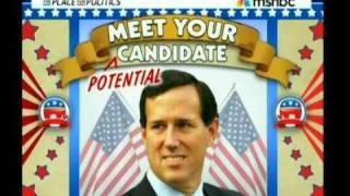 Radical 2012 GOP Candidate - Santorum thumbnail