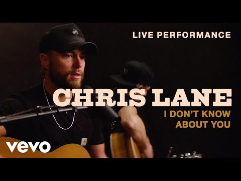 """Chris Lane - """"I Don't Know About You"""" Live Performance 