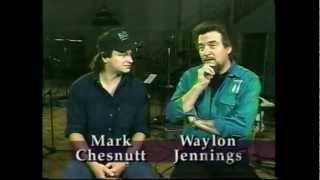 "Mark Chesnutt & Waylon Jennings ""In The Studio"""