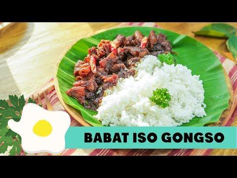 Resep Babat Iso Gongso