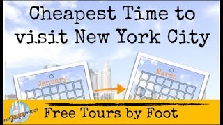 Cheapest Time to Visit NYC