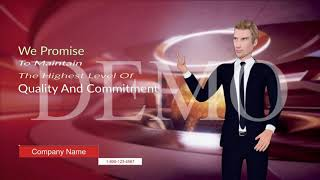 46160I will create a professional male spokesperson video in 48 hours