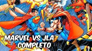 MARVEL Vs DC COMICS AVENGERS Vs LIGA DE LA JUSTICIA Completo @SoyComicsTj