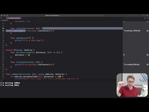 How to create and use protocols – Swift for Complete Beginners thumbnail