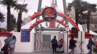 Oblivion: The Black Hole HD, Gardaland Novità 2015/new Coaster 2015. Onride Pov/Offride Raw Footage