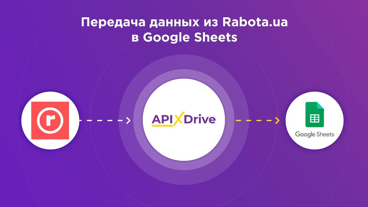 Как настроить выгрузку данных по откликам на вакансии из Rabota.ua в GoogleSheets?