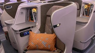 Singapore to Maldives Business Class | Singapore Airlines B787-10 (SQ452)