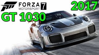 Need for Speed: The Run - Nvidia GT 1030 - Core i3 6100