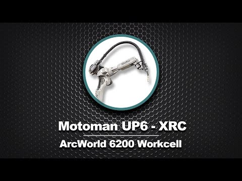 Motoman ArcWorld 6200 Welding Workcell
