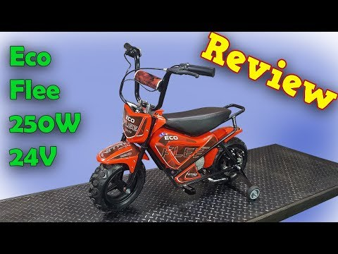 Full Review of our- ECO Flee - Mini Electric Dirt Bike