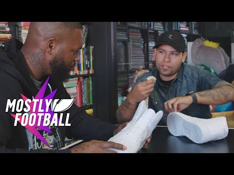 Kickstradomis And Martellus Bennett Sit Down To Create 'The Heat' | Mostly Football