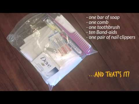 How to Assemble CWS Hygiene Kits