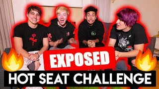 HOT SEAT CHALLENGE (exposed our DARKEST secrets)