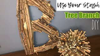 Home Decor With Tree Branches | Craft Your Stash With Nature DIY Challenge