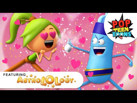 AstroLOLogy | THE LOVE HACKS | ROM-ANTICS | 3D Cartoons for Kids | Pop Teen Toons
