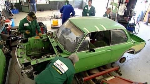 Komplett-Restauration BMW 02 - Teil 2 Der Umbau des BMW 02 z