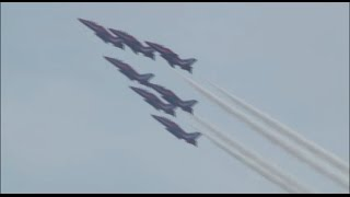 preview picture of video 'Bournemouth Air Festival 2014 - Red Arrows Full Display - Thursday'