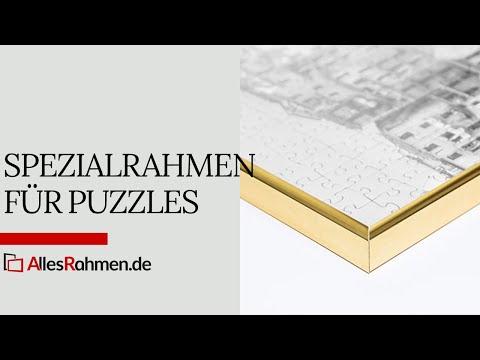 Spezial-Bilderrahmen für Puzzles