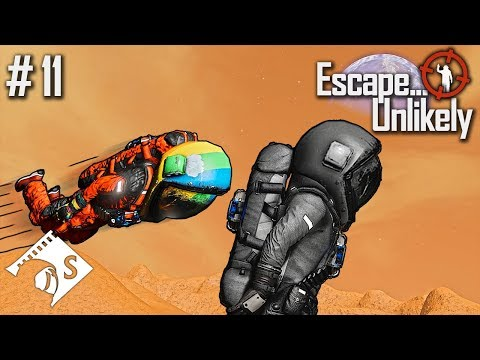 Escape... Unlikely #11 The Capac Manoeuvre (A Space Engineers Co Op Series)