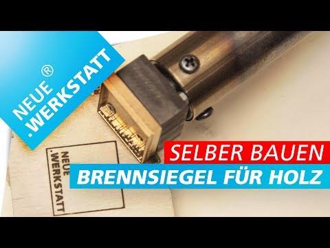 🔥Brennstempel für ein paar Euro, selber bauen!!! Eigenes Logo oder Motiv!!! | NEUE.WERKSTATT
