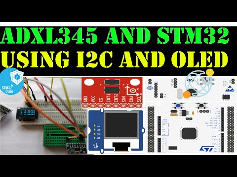 OLED LCD display with STM32 or STM32F4 - смотреть онлайн на Hah Life