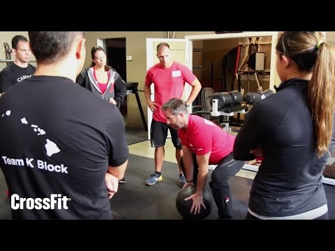 """""""Neutral Spine"""" from the CrossFit Level 1 Trainer Course"""
