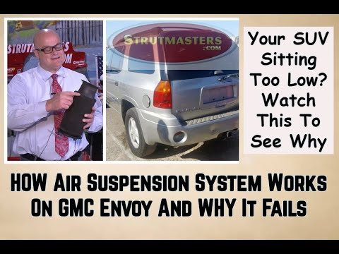 Air Suspension Fix For GMC Envoy 2003-2009